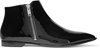 Marc by Marc Jacobs Patent-leather ankle boots $670 thestylecure.com