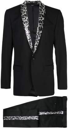 Dolce & Gabbana martini two-piece tuxedo
