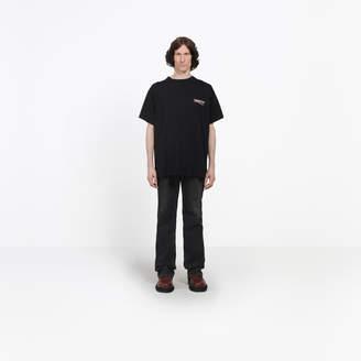Balenciaga logo printed short sleeves T-shirt