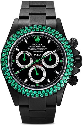 Rolex MAD Paris Daytona Emerald 46mm