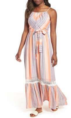 Everleigh Tie Waist Cotton Maxi Dress (Regular & Petite)