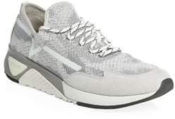 Diesel Mesh& Suede Sneakers