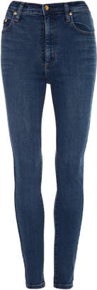 Nobody Denim Siren Cropped High-Rise Slim-Leg Jeans