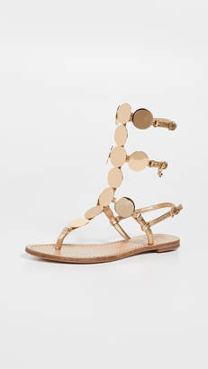 02df4b4ffb9 Tory Burch Patos Disk Gladiator Sandals