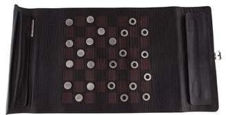 Prada Leather Travel Checkers Board
