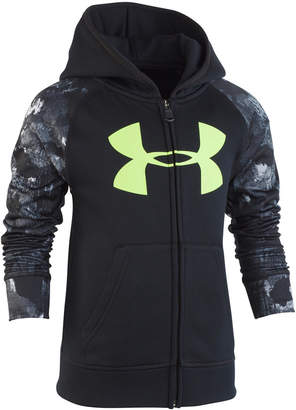 Under Armour Toddler Boys Bedrock Camo Zip-Up Hoodie