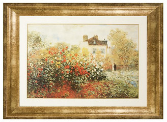 Munn Works Claude Monet - Garden in Argenteuil Sun Art