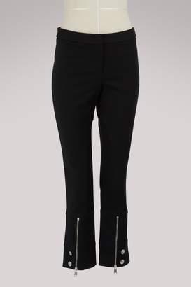 Alexander McQueen Zipper detail pants