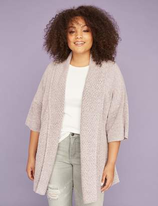 Lane Bryant Stitch Mix Cocoon Sweater