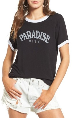 Women's Daydreamer Paradise City Graphic Tee $44 thestylecure.com