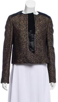 Sophie Theallet Velvet Trimmed Evening Jacket
