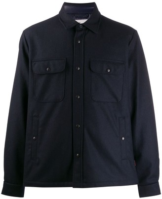 Woolrich buttoned pockets shirt jacket
