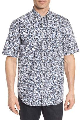 Paul & Shark PAUL AND SHARK Paul&Shark Regular Fit Floral Sport Shirt
