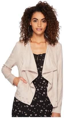 BB Dakota Arly Faux Suede Jacket Women's Coat