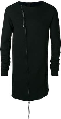 Army Of Me zipped fitted sweater