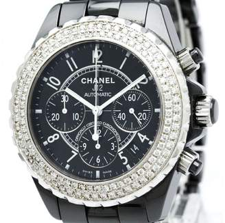 Chanel J12 H0940 Chronograph Ceramic Automatic 41m Mens Watch