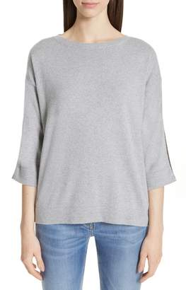 Fabiana Filippi Boatneck Cashmere Blend Sweater