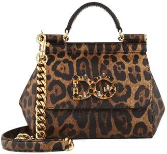 Dolce & Gabbana Mini Sicily Top Handle Bag