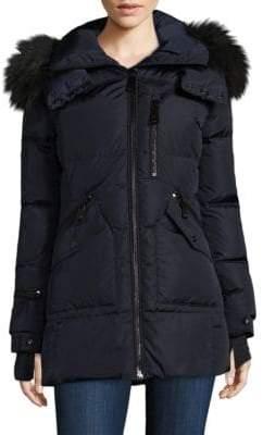 SAM. Cruiser Fur Trimmed Down Jacket