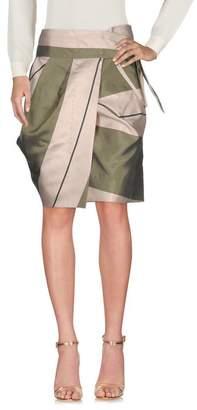 Albino Knee length skirt