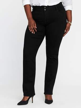 Old Navy High-Rise Built-In-Sculpt Plus-Size Rockstar Boot-Cut Jeans