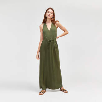 Warehouse V Neck Maxi Dress