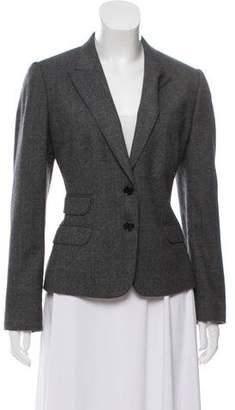 Dolce & Gabbana Bouclé Two-Button Blazer