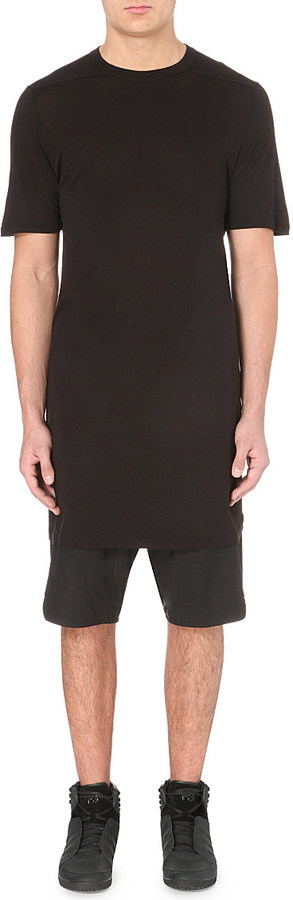 Rick Owens Extended Jersey T-Shirt - for Men
