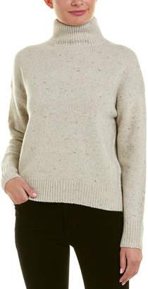 Vince Turtleneck Wool-Blend Pullover