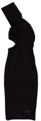 Bec & Bridge One-Shoulder Midi Dress