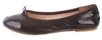 Bloch Girls' Patent Leather Ballerina Flats