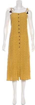 Faithfull The Brand Printed Maxi Dress w/ Tags