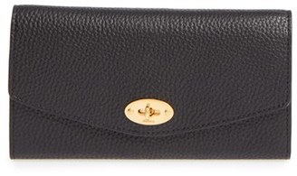 Mulberry 'Postman's Lock' Leather Wallet $455 thestylecure.com