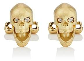 Deakin & Francis Men's Skull Cufflinks - Gold
