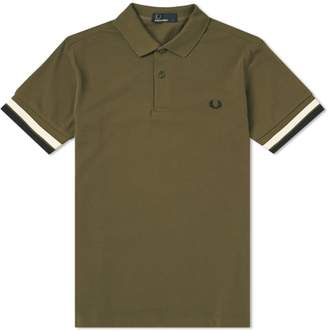 Fred Perry Authentic Bold Cuff Pique Polo