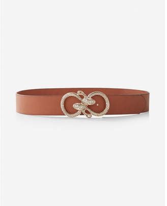 Express serpent buckle belt
