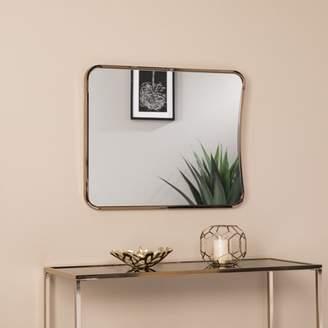 Southern Enterprises Areta Large Decorative Mirror, Glam Style, Champagne