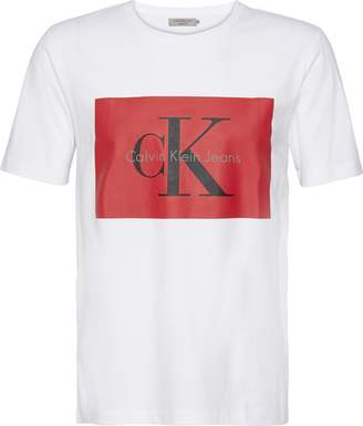 Calvin Klein Men's Tikimo Regular Fit T-Shirt