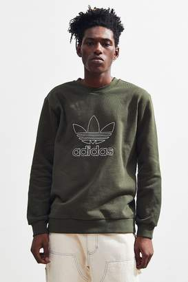 adidas Trefoil Outline Crew Neck Sweatshirt