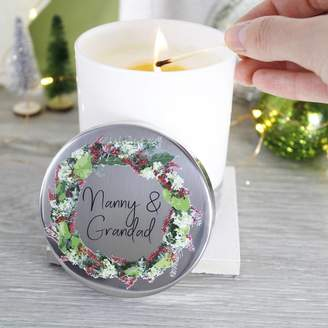 Morgan Olivia Ltd Wreath Scented Christmas Candle For Grandparents