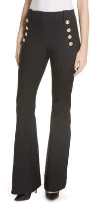 Derek Lam 10 Crosby Robertson Stretch Cotton Sailor Pants