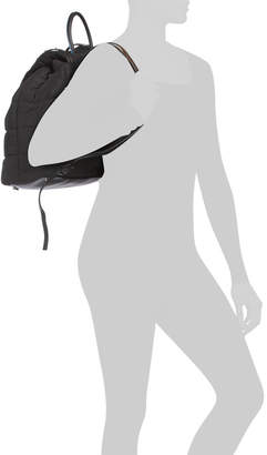 Branwen Oversized Quilted Nylon Backpack
