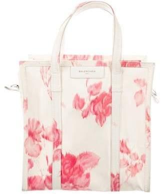 59e976eab8 Balenciaga Bazar Shopper Small AJ Floral-Print Tote