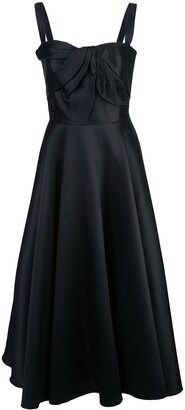 Marchesa fitted party dress