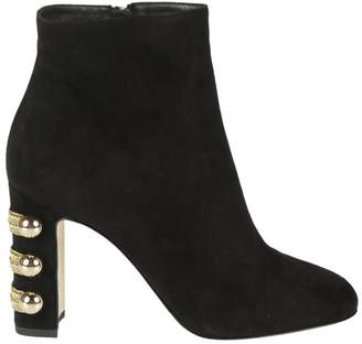Dolce & Gabbana Zipped Ankle Boots