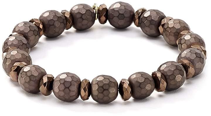 Bourbon & Boweties Faceted Stretch Bracelet