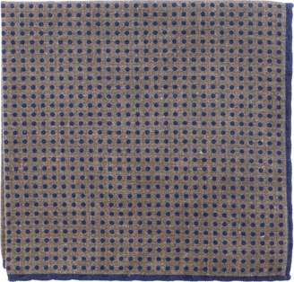 Eleventy Pocket Square With Polka Dots