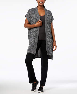 Calvin Klein Seamed Open-Front Cardigan