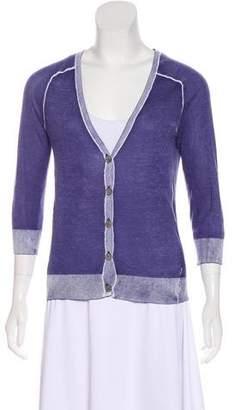 J Brand Silk Knit Cardigan