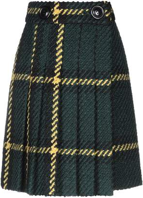 Miu Miu Knee length skirts